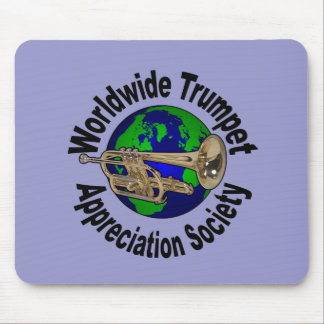 Sociedad mundial del aprecio de la trompeta tapetes de raton