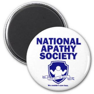 Sociedad nacional de la apatía imanes para frigoríficos