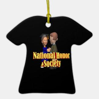 Sociedad nacional del honor ornamentos de navidad