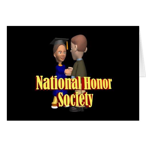 Sociedad nacional del honor felicitacion