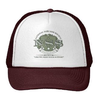 Sociedad nacional del sarcasmo gorras