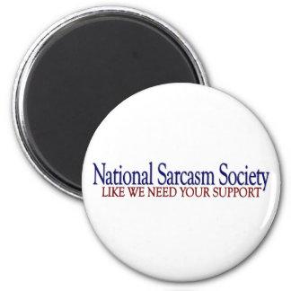Sociedad nacional del sarcasmo imanes para frigoríficos