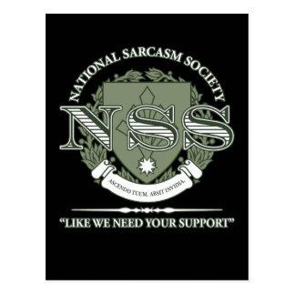 Sociedad nacional del sarcasmo postal