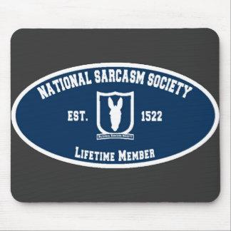 Sociedad nacional del sarcasmo tapete de ratones