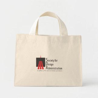 Sociedad para la administración del diseño bolsa de tela pequeña