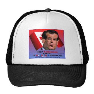 Sociedad para la prevención de Ted Cruz Gorras De Camionero