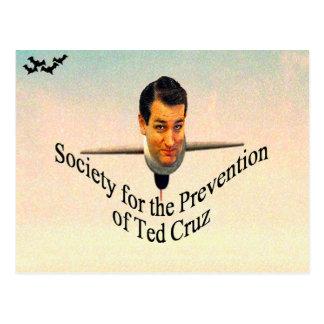 Sociedad para la prevención de Ted Cruz Postales
