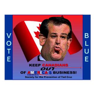 Sociedad para la prevención de Ted Cruz Postal