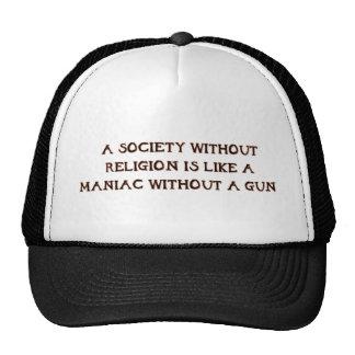 Sociedad y maniacos gorras
