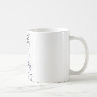 Societal Slavery Classic White Coffee Mug