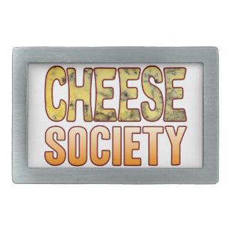 Society Blue Cheese Rectangular Belt Buckle