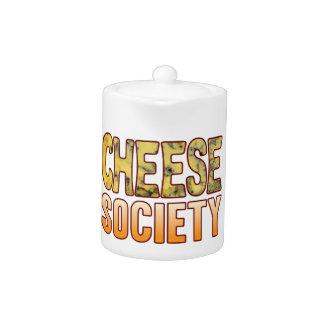 Society Blue Cheese Teapot