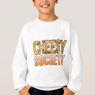 Society Blue Cheesy Sweatshirt