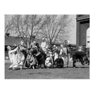 Society Circus: 1924 Postcard