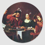Society For Table By Tournier Nicolas Round Sticker