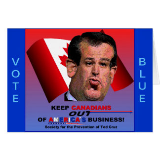 Society for the Prevention of Ted Cruz Greeting Card