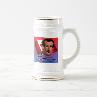 Society for the Prevention of Ted Cruz 18 Oz Beer Stein