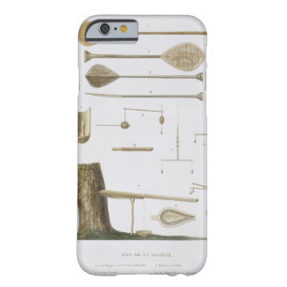 Society Islands: pangas, fishing hooks and other t Barely There iPhone 6 Case