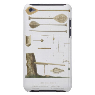 Society Islands: pangas, fishing hooks and other t iPod Touch Case-Mate Case