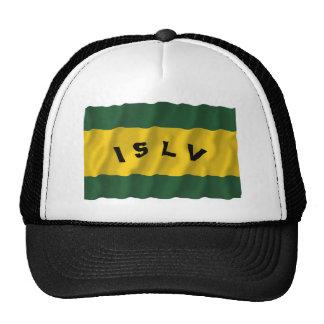 Society Islands Waving Flag Trucker Hat