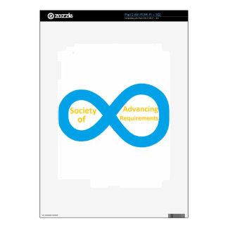 Society of Advancing Requirements (SOAR) iPad 2 Skin