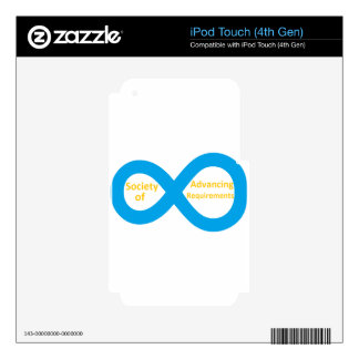 Society of Advancing Requirements (SOAR) Skins For iPod Touch 4G