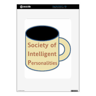 Society of Intelligent Personalities (SIP) iPad Decal