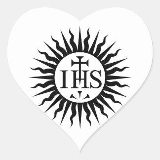 Society of Jesus (Jesuits) Heart Sticker