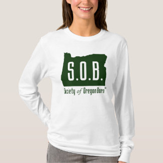 Society of Oregon Born long sleeve t-shirt