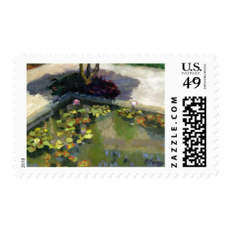 Society of the Four Arts postage stamp