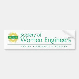Society of Women Engineers Bumper Sticker (Color) Car Bumper Sticker