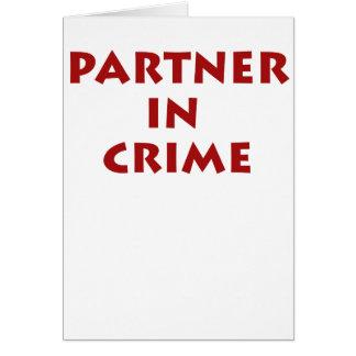 ¡Socio - adentro - crimen Felicitaciones