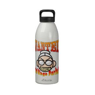 Socio del bingo botella de beber
