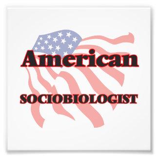 Sociobiologist americano fotografía