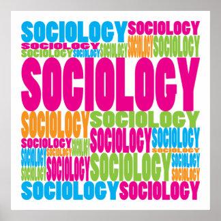 Sociología colorida póster