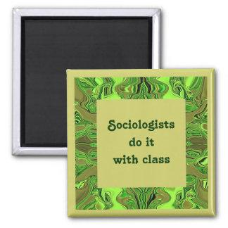 Sociologist joke fridge magnets