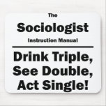 sociologist mouse pad