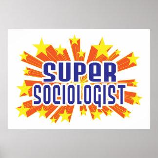 Sociólogo estupendo póster