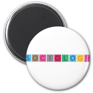Sociology 2 Inch Round Magnet