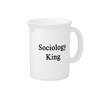 Sociology King Drink Pitcher