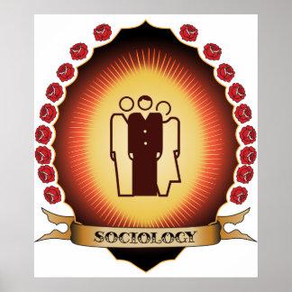 Sociology Mandorla Print