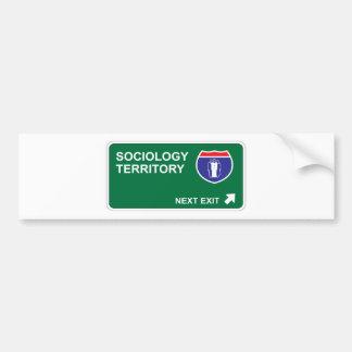 Sociology Next Exit Bumper Sticker