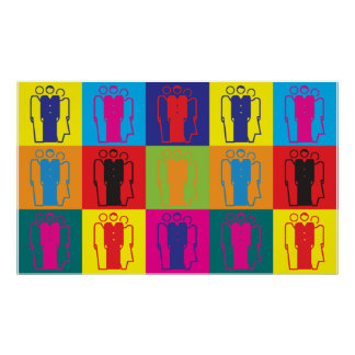 Sociology Pop Art Poster