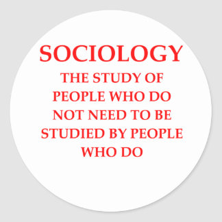 sociology stickers