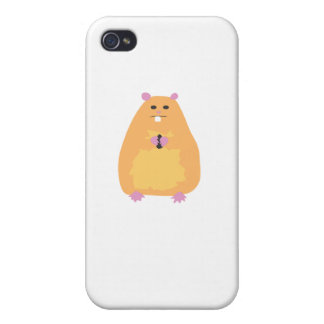 Sociopathic Hampster Covers For iPhone 4