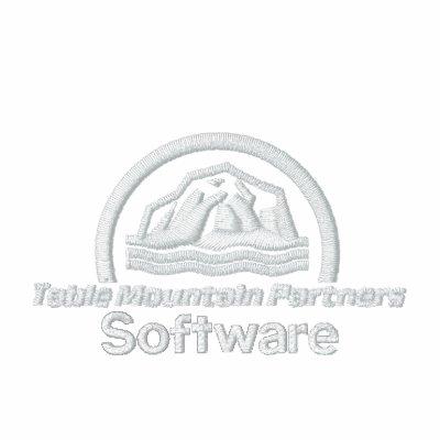 Socios de la montaña de la tabla (software del log chaqueta bordada de entrenamiento