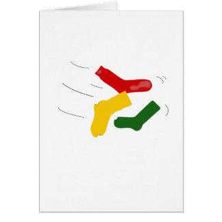 Sock Chucker Birthday Card