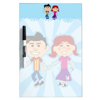 Sock Hop Kids Noteboard Dry-Erase Boards