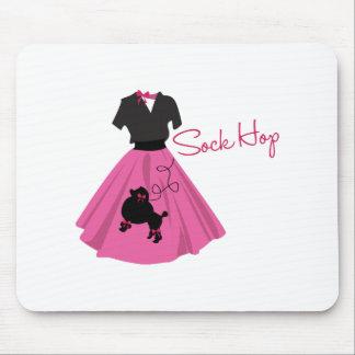 Sock Hop Mouse Pad