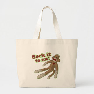 Sock It To Me! Large Tote Bag
